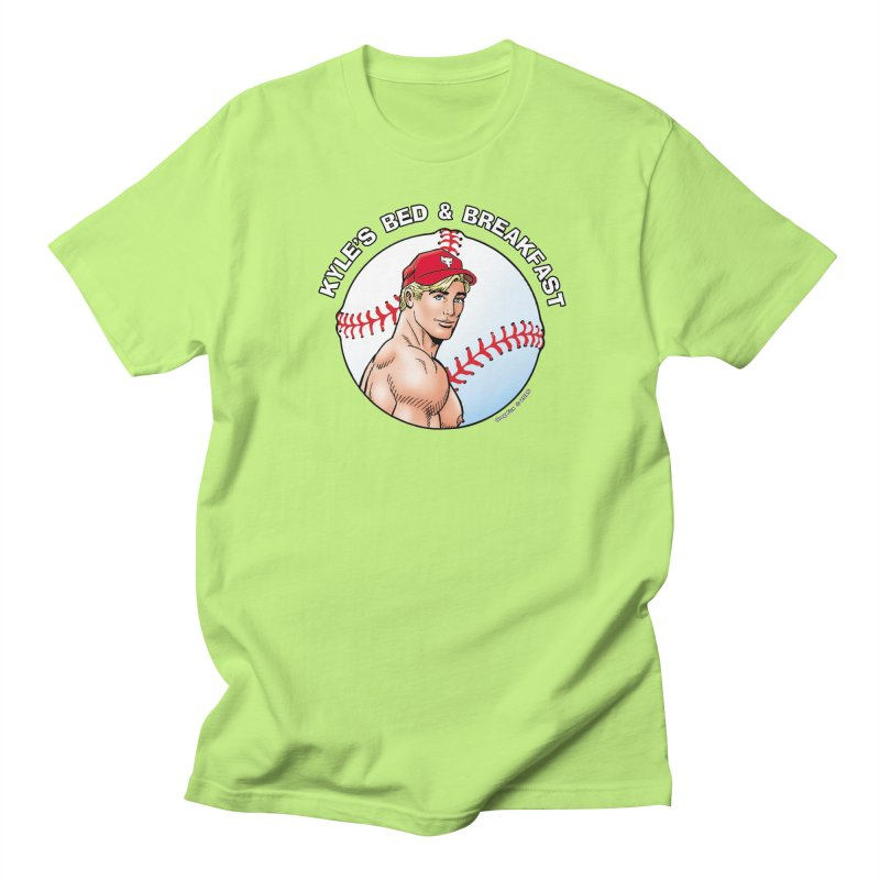 Brad - Baseball Men's T-Shirt by Kyle's Bed & Breakfast Fine Clothing & Gifts Shop