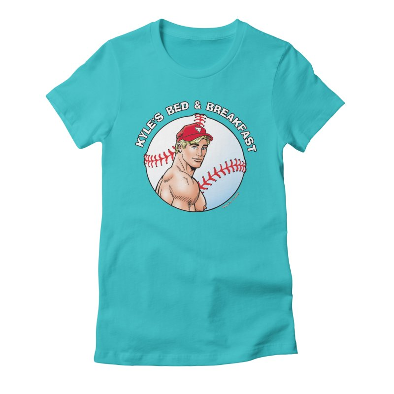 Brad - Baseball Women's T-Shirt by Kyle's Bed & Breakfast Fine Clothing & Gifts Shop