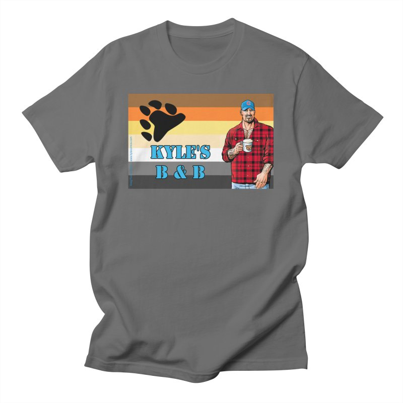 Jake - Bear Flag Men's T-Shirt by Kyle's Bed & Breakfast Fine Clothing & Gifts Shop