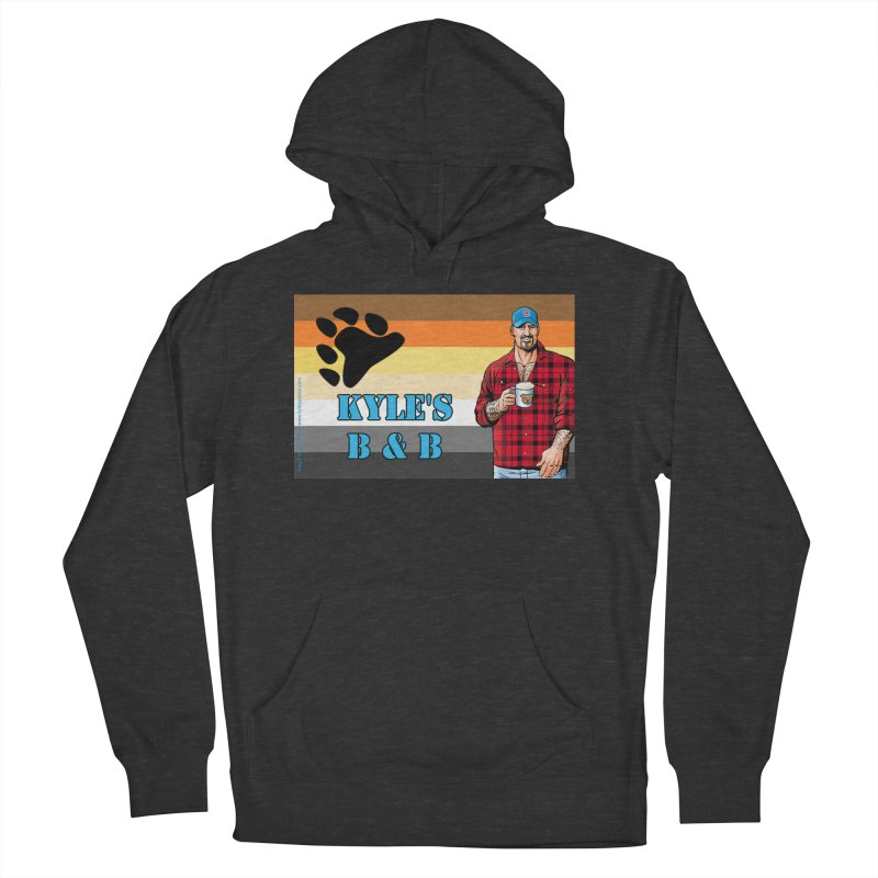 Jake - Bear Flag Men's Pullover Hoody by Kyle's Bed & Breakfast Fine Clothing & Gifts Shop