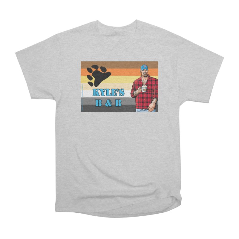 Jake - Bear Flag Men's Classic T-Shirt by Kyle's Bed & Breakfast Fine Clothing & Gifts Shop