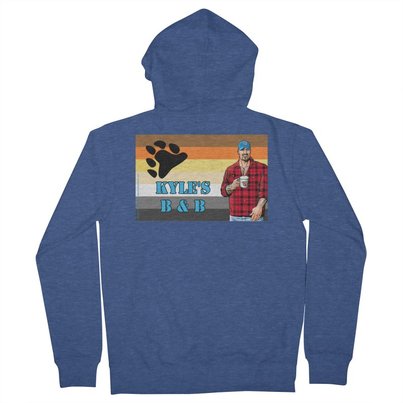 Jake - Bear Flag Women's French Terry Zip-Up Hoody by Kyle's Bed & Breakfast Fine Clothing & Gifts Shop