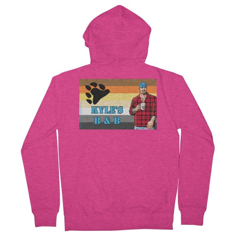 Jake - Bear Flag Women's Zip-Up Hoody by Kyle's Bed & Breakfast Fine Clothing & Gifts Shop
