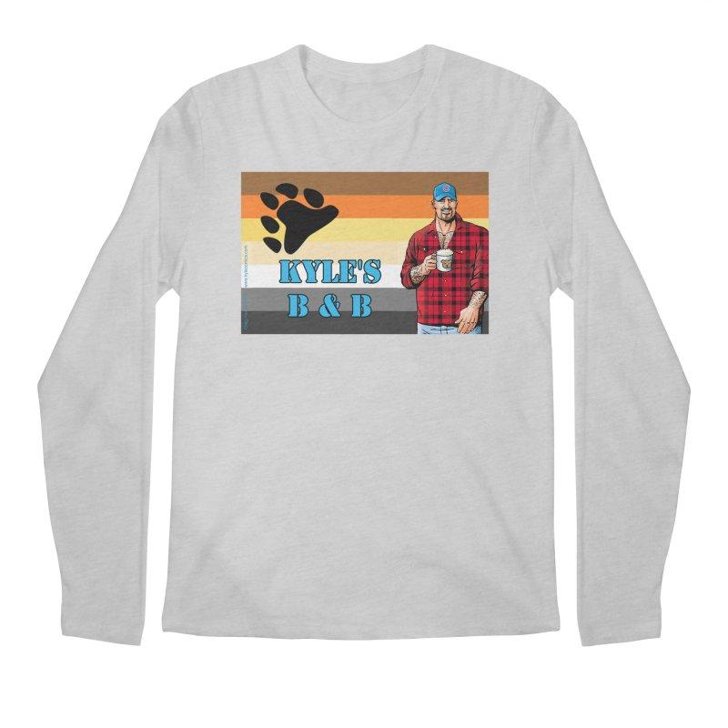 Jake - Bear Flag Men's Regular Longsleeve T-Shirt by Kyle's Bed & Breakfast Fine Clothing & Gifts Shop