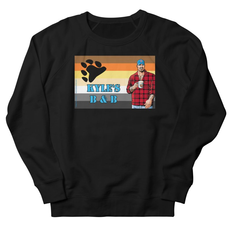 Jake - Bear Flag Women's French Terry Sweatshirt by Kyle's Bed & Breakfast Fine Clothing & Gifts Shop