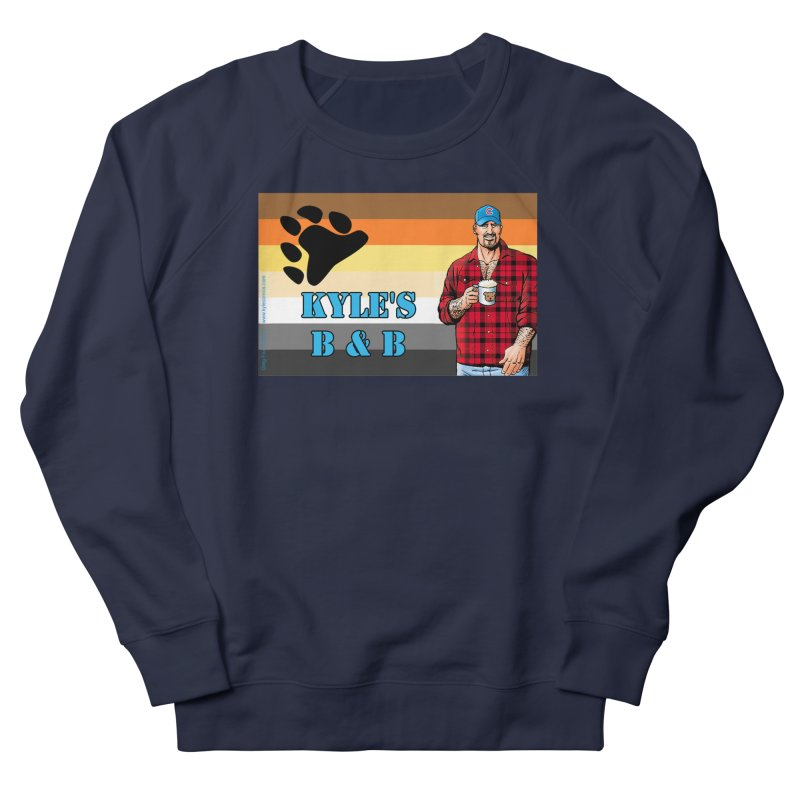 Jake - Bear Flag Men's French Terry Sweatshirt by Kyle's Bed & Breakfast Fine Clothing & Gifts Shop