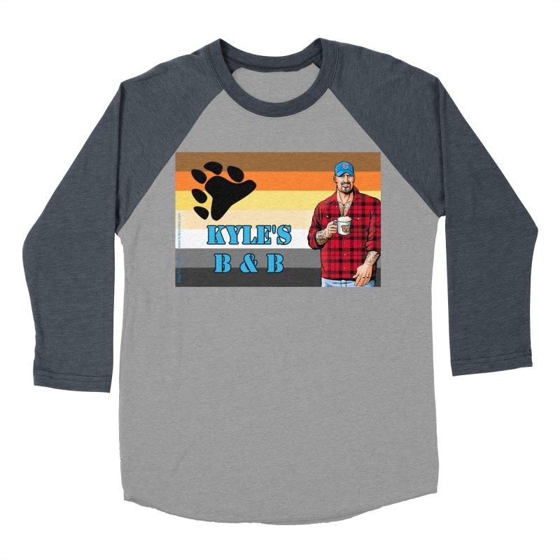 Jake - Bear Flag Women's Baseball Triblend Longsleeve T-Shirt by Kyle's Bed & Breakfast Fine Clothing & Gifts Shop