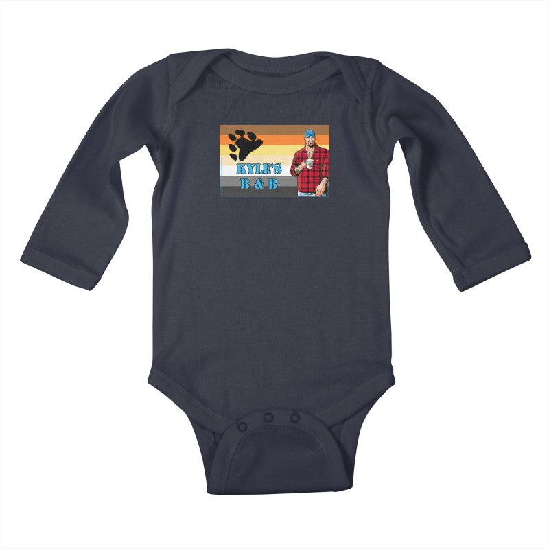 Jake - Bear Flag Kids Baby Longsleeve Bodysuit by Kyle's Bed & Breakfast Fine Clothing & Gifts Shop
