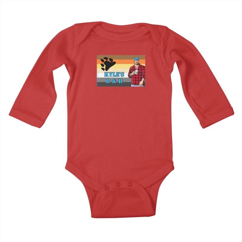 Jake - Bear Flag Kids Baby Longsleeve Bodysuit by Kyle's Bed & Breakfast Fine Clothing & Gifts Shop