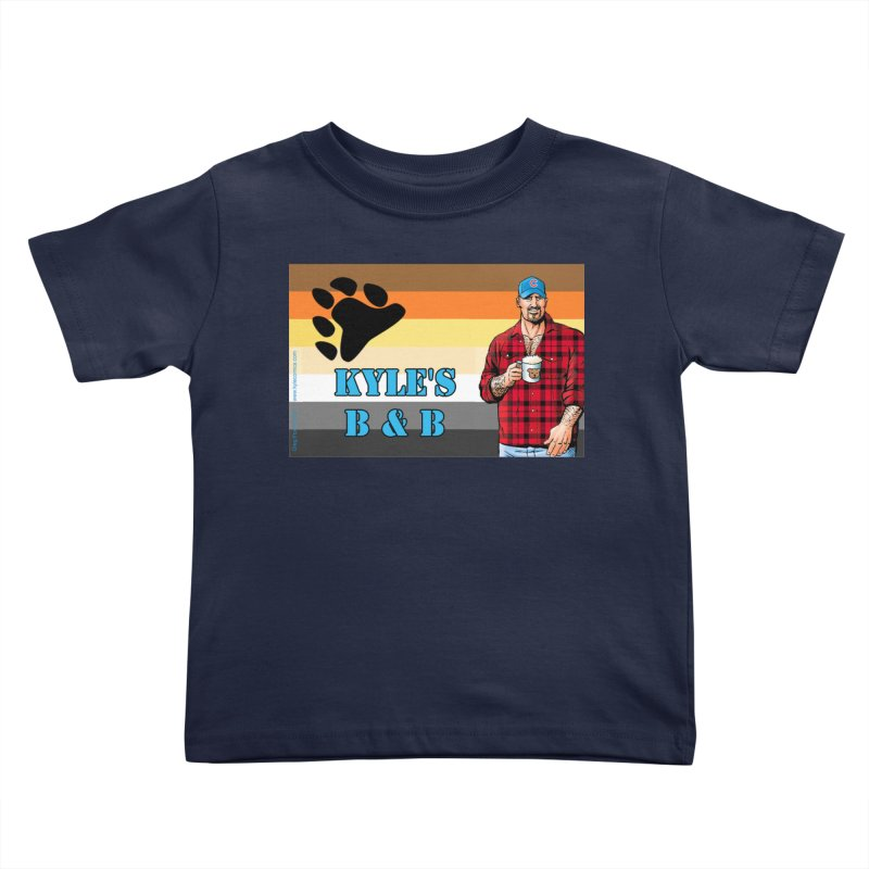 Jake - Bear Flag Kids Toddler T-Shirt by Kyle's Bed & Breakfast Fine Clothing & Gifts Shop
