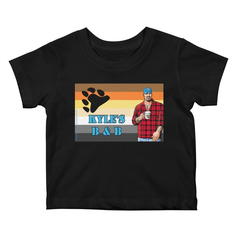 Jake - Bear Flag Kids Baby T-Shirt by Kyle's Bed & Breakfast Fine Clothing & Gifts Shop