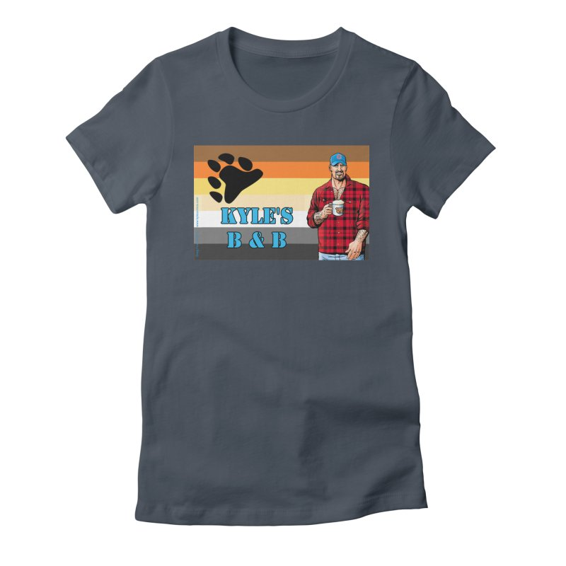 Jake - Bear Flag Women's T-Shirt by Kyle's Bed & Breakfast Fine Clothing & Gifts Shop