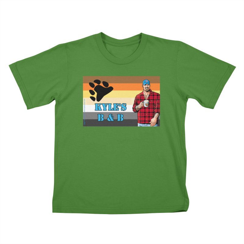 Jake - Bear Flag Kids T-Shirt by Kyle's Bed & Breakfast Fine Clothing & Gifts Shop