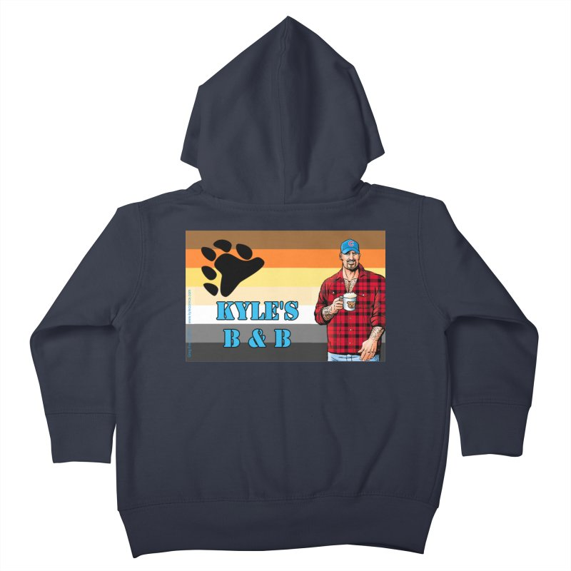 Jake - Bear Flag Kids Toddler Zip-Up Hoody by Kyle's Bed & Breakfast Fine Clothing & Gifts Shop