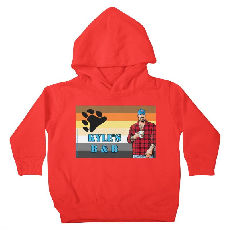 Jake - Bear Flag Kids Toddler Pullover Hoody by Kyle's Bed & Breakfast Fine Clothing & Gifts Shop