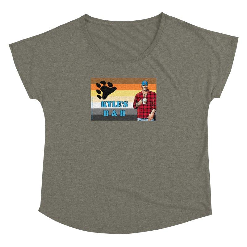 Jake - Bear Flag Women's Dolman by Kyle's Bed & Breakfast Fine Clothing & Gifts Shop
