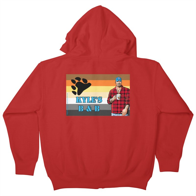 Jake - Bear Flag Kids Zip-Up Hoody by Kyle's Bed & Breakfast Fine Clothing & Gifts Shop