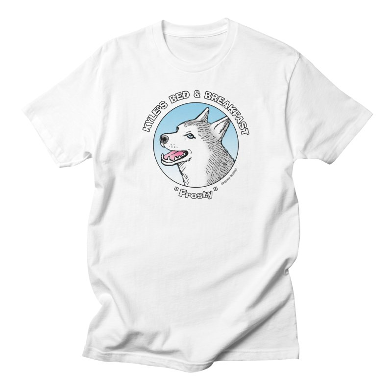 Frosty Men's T-Shirt by Kyle's Bed & Breakfast Fine Clothing & Gifts Shop
