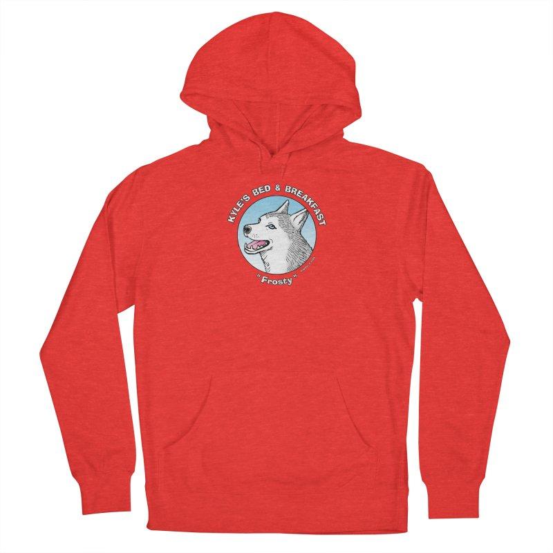 Frosty Men's Pullover Hoody by Kyle's Bed & Breakfast Fine Clothing & Gifts Shop