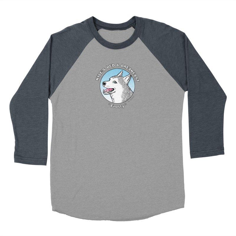 Frosty Women's Longsleeve T-Shirt by Kyle's Bed & Breakfast Fine Clothing & Gifts Shop