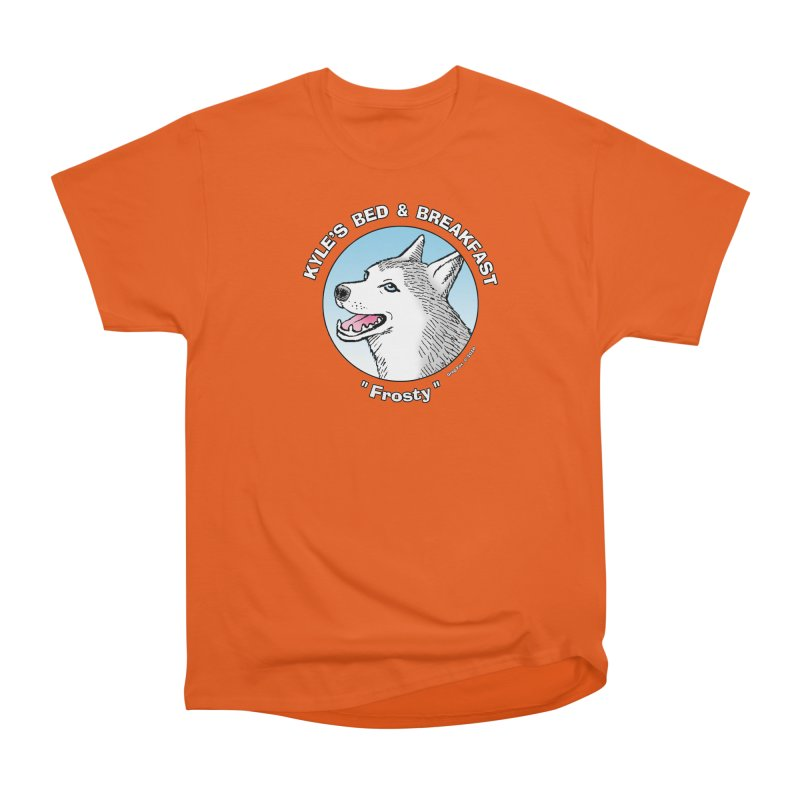 Frosty Men's Classic T-Shirt by Kyle's Bed & Breakfast Fine Clothing & Gifts Shop