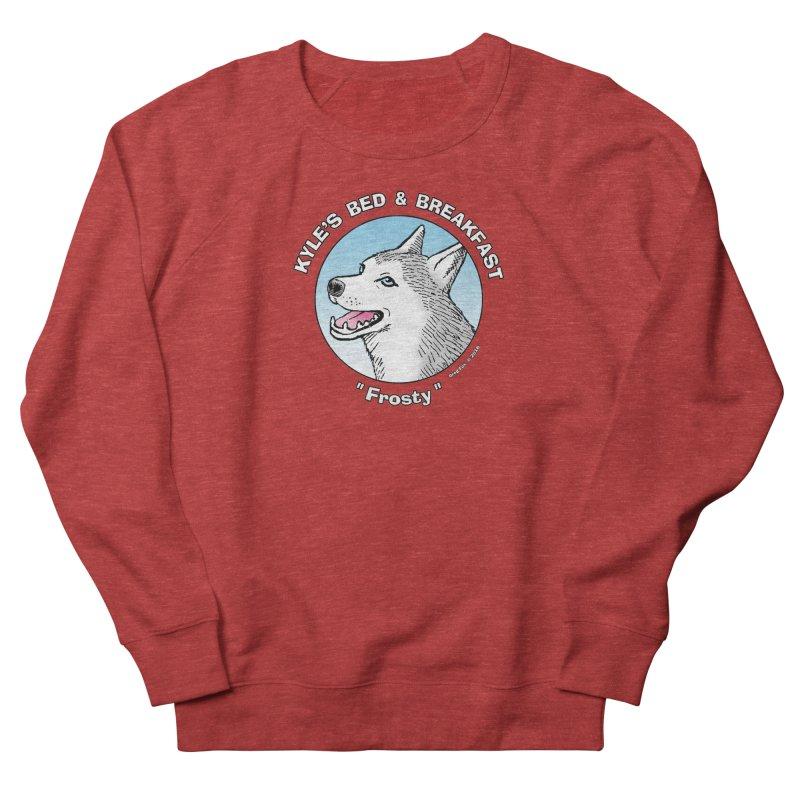 Frosty Women's Sweatshirt by Kyle's Bed & Breakfast Fine Clothing & Gifts Shop