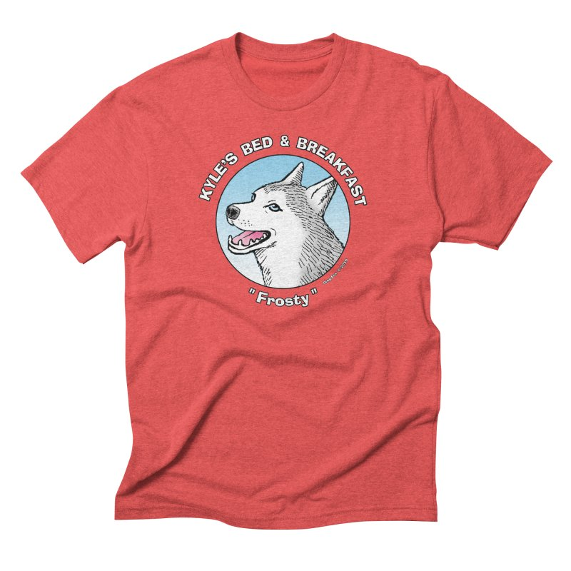 Frosty Men's Triblend T-shirt by Kyle's Bed & Breakfast Fine Clothing & Gifts Shop