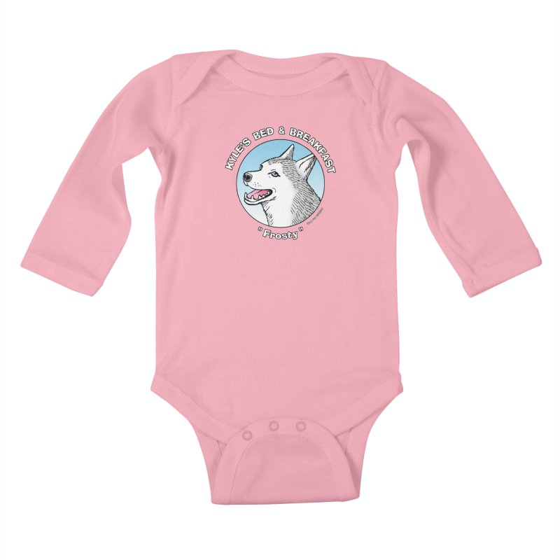 Frosty Kids Baby Longsleeve Bodysuit by Kyle's Bed & Breakfast Fine Clothing & Gifts Shop