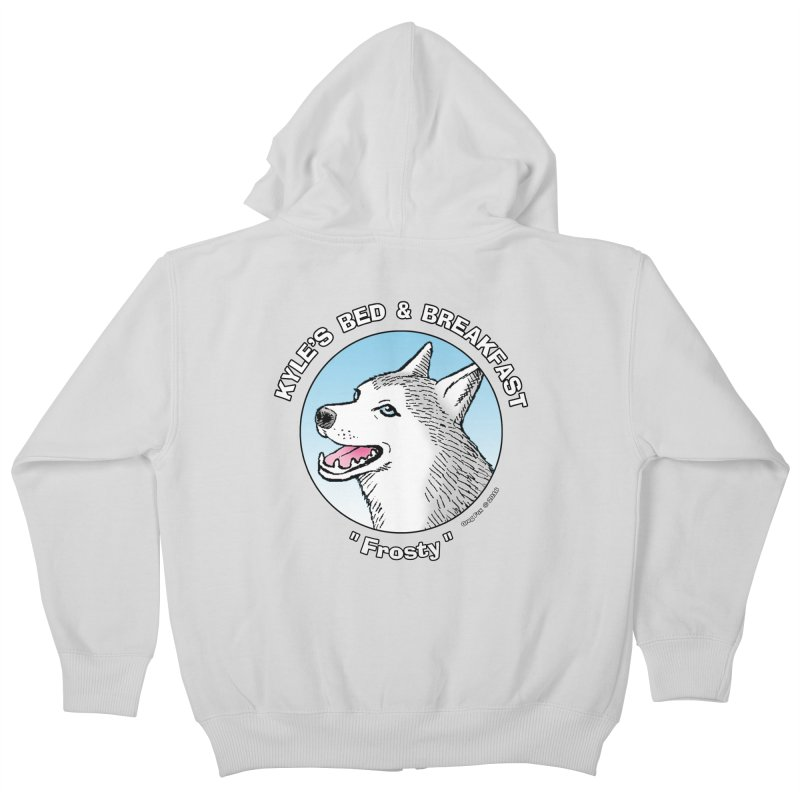 Frosty Kids Zip-Up Hoody by Kyle's Bed & Breakfast Fine Clothing & Gifts Shop