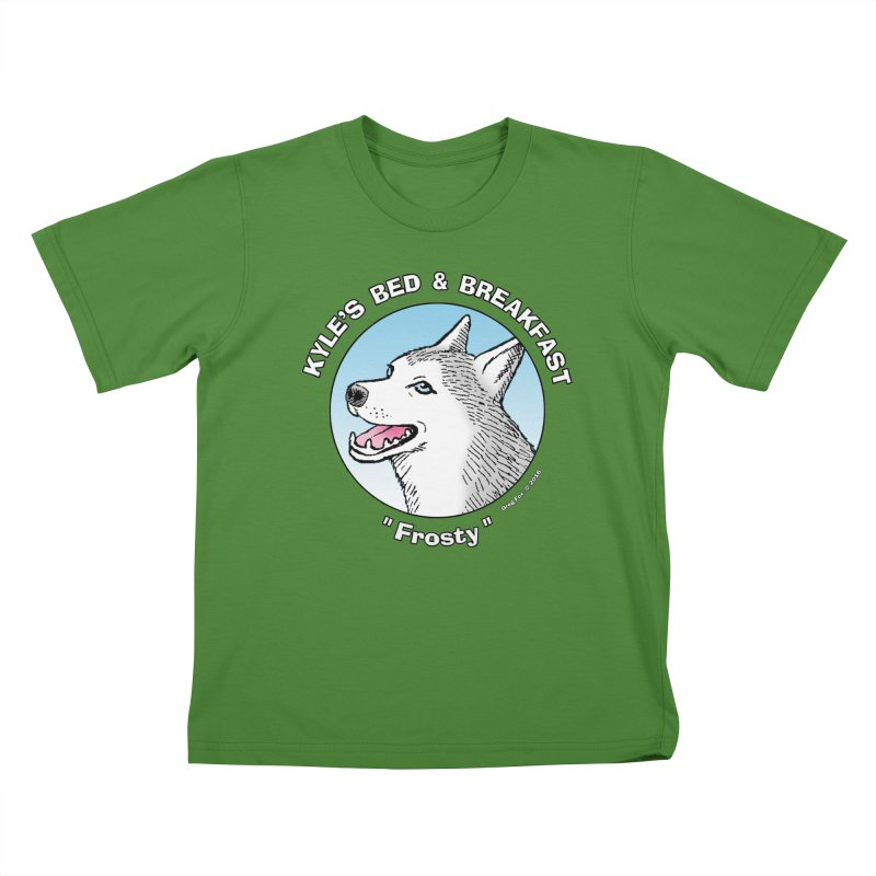Frosty Kids T-shirt by Kyle's Bed & Breakfast Fine Clothing & Gifts Shop