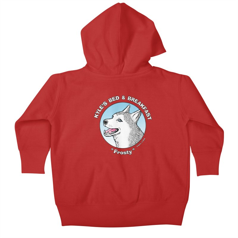 Frosty Kids Baby Zip-Up Hoody by Kyle's Bed & Breakfast Fine Clothing & Gifts Shop