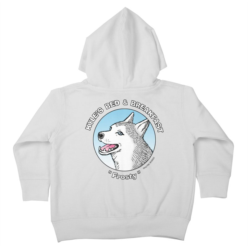 Frosty Kids Toddler Zip-Up Hoody by Kyle's Bed & Breakfast Fine Clothing & Gifts Shop