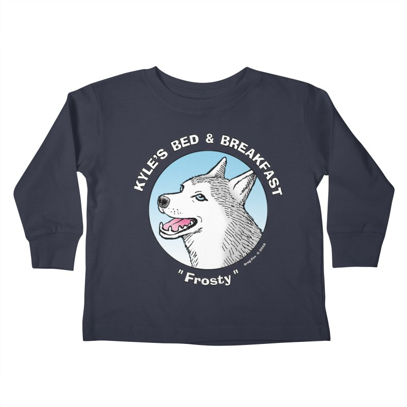 Frosty Kids Toddler Longsleeve T-Shirt by Kyle's Bed & Breakfast Fine Clothing & Gifts Shop