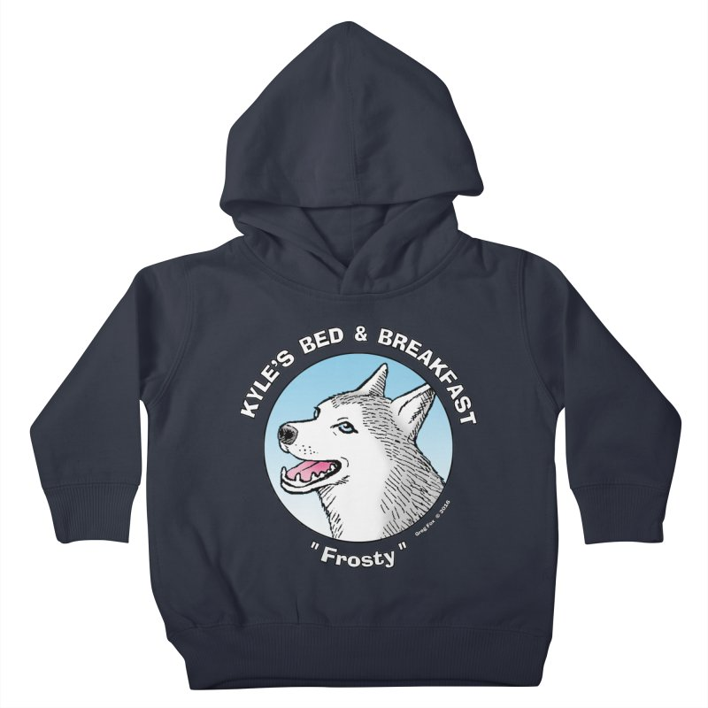 Frosty Kids Toddler Pullover Hoody by Kyle's Bed & Breakfast Fine Clothing & Gifts Shop