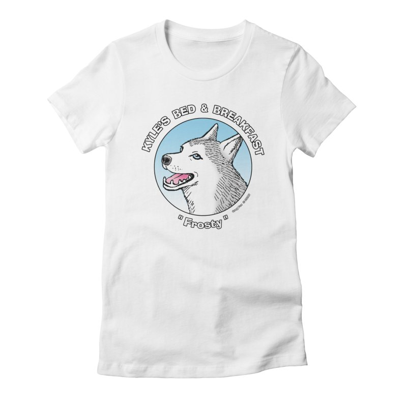 Frosty Women's T-Shirt by Kyle's Bed & Breakfast Fine Clothing & Gifts Shop