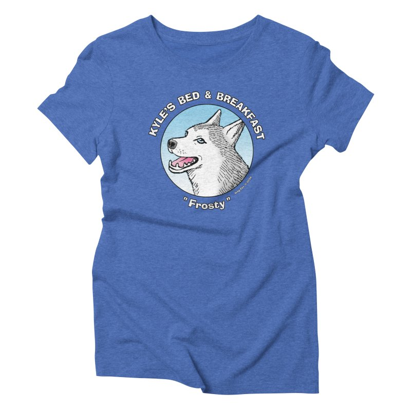 Frosty Women's Triblend T-Shirt by Kyle's Bed & Breakfast Fine Clothing & Gifts Shop