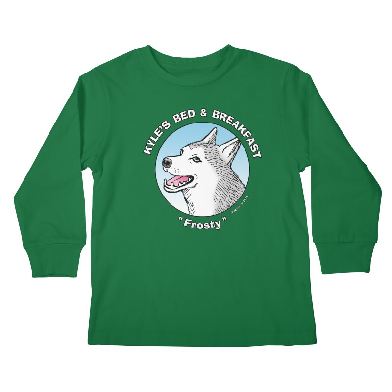 Frosty Kids Longsleeve T-Shirt by Kyle's Bed & Breakfast Fine Clothing & Gifts Shop