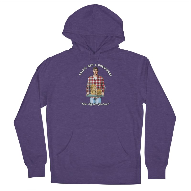Kyle - Hot Off the Griddle! Men's French Terry Pullover Hoody by Kyle's Bed & Breakfast Fine Clothing & Gifts Shop