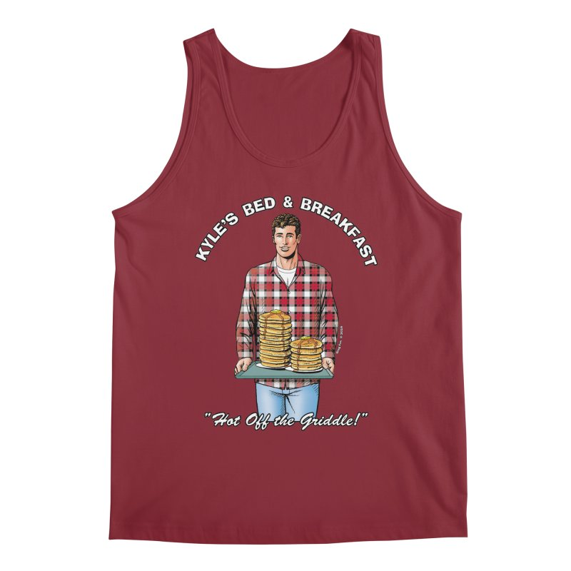 Kyle - Hot Off the Griddle! Men's Regular Tank by Kyle's Bed & Breakfast Fine Clothing & Gifts Shop