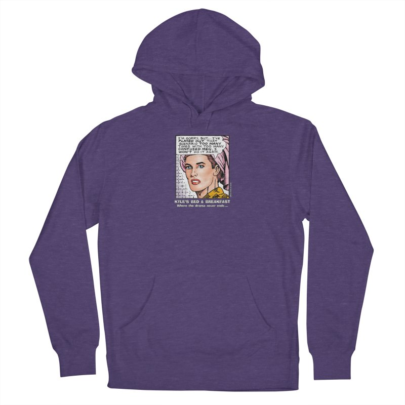Morgan St. Cloud Men's French Terry Pullover Hoody by Kyle's Bed & Breakfast Fine Clothing & Gifts Shop