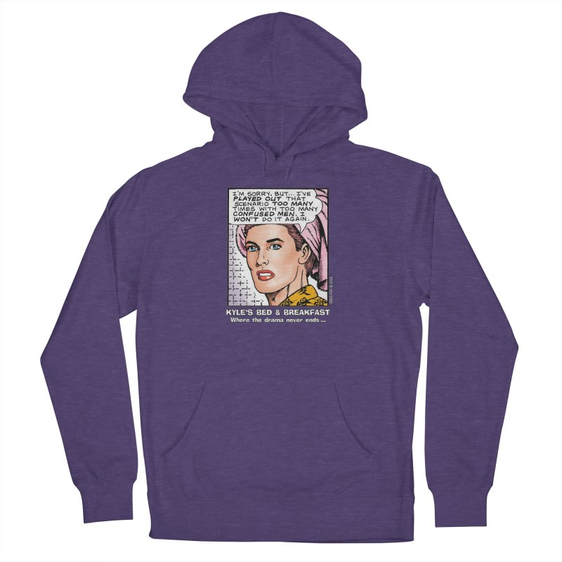 Morgan St. Cloud Women's French Terry Pullover Hoody by Kyle's Bed & Breakfast Fine Clothing & Gifts Shop