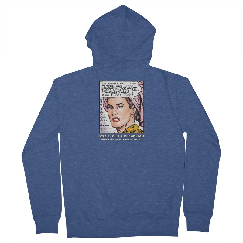Morgan St. Cloud Women's French Terry Zip-Up Hoody by Kyle's Bed & Breakfast Fine Clothing & Gifts Shop