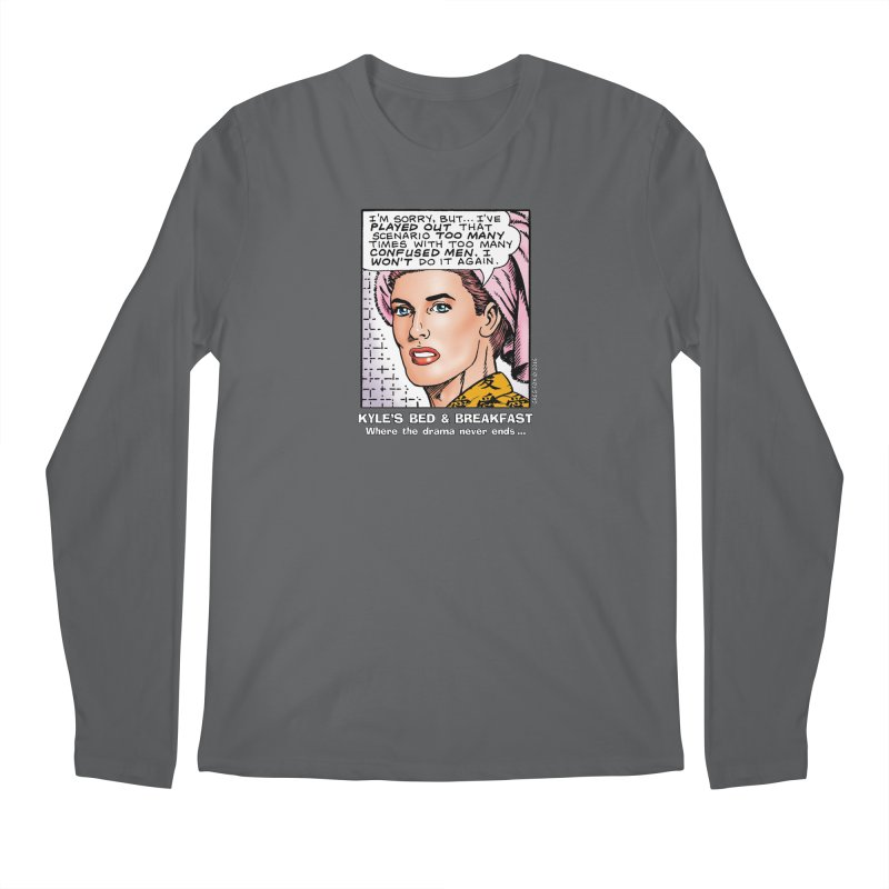 Morgan St. Cloud Men's Longsleeve T-Shirt by Kyle's Bed & Breakfast Fine Clothing & Gifts Shop
