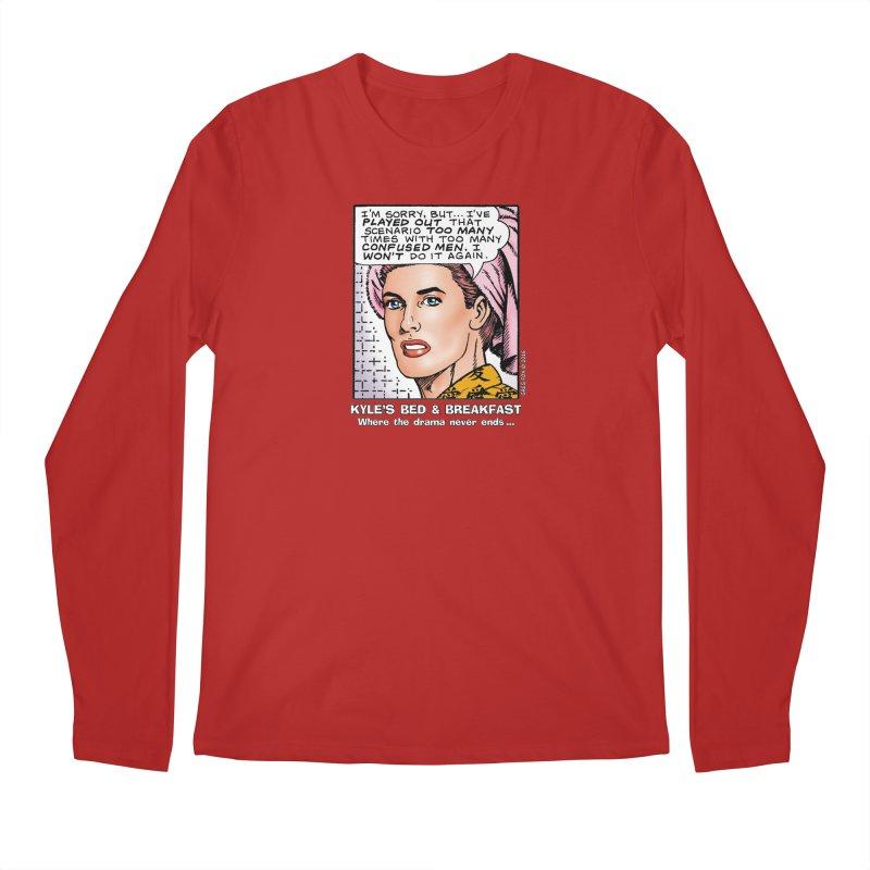 Morgan St. Cloud Men's Longsleeve T-Shirt by Kyle's Bed & Breakfast Fine Clothing & Gifts Shop