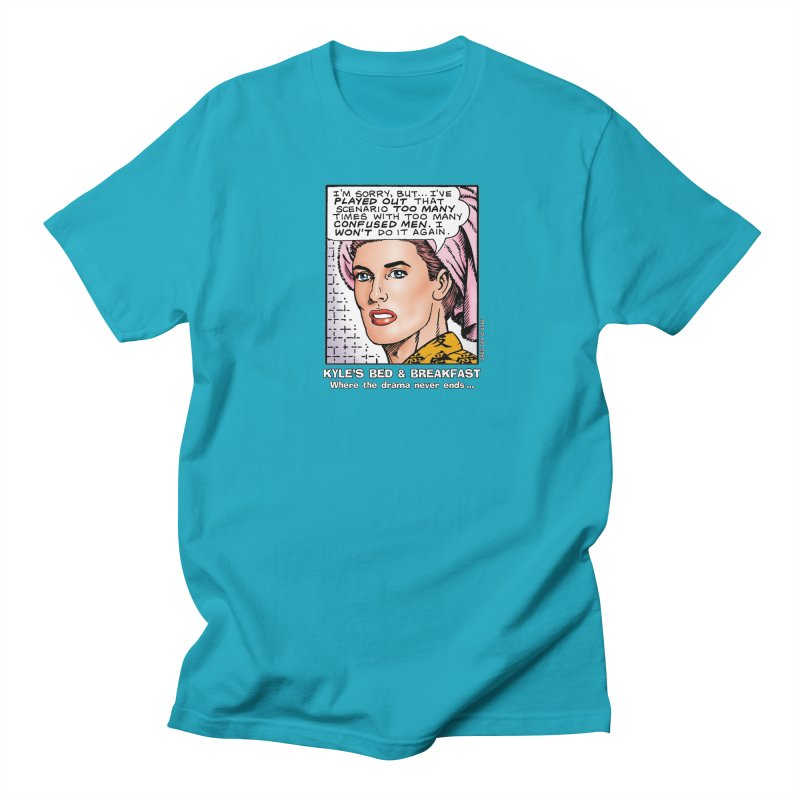 Morgan St. Cloud Men's T-shirt by Kyle's Bed & Breakfast Fine Clothing & Gifts Shop