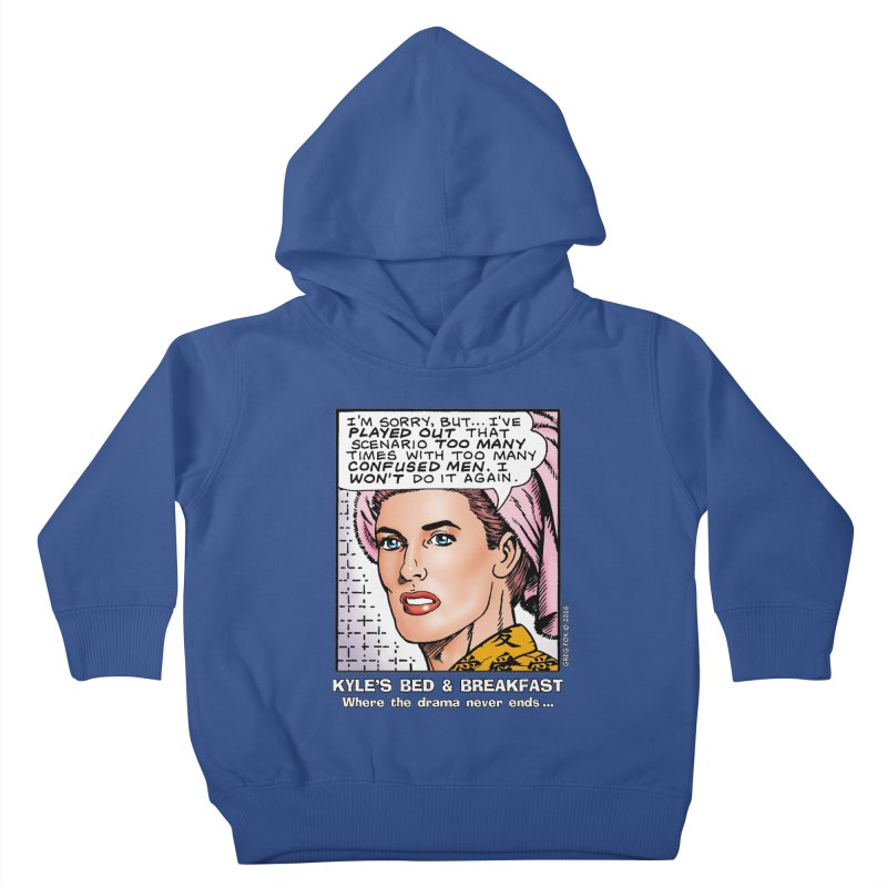 Morgan St. Cloud Kids Toddler Pullover Hoody by Kyle's Bed & Breakfast Fine Clothing & Gifts Shop