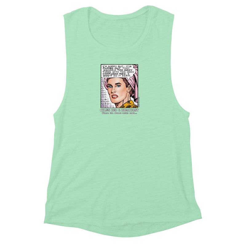 Morgan St. Cloud Women's Muscle Tank by Kyle's Bed & Breakfast Fine Clothing & Gifts Shop