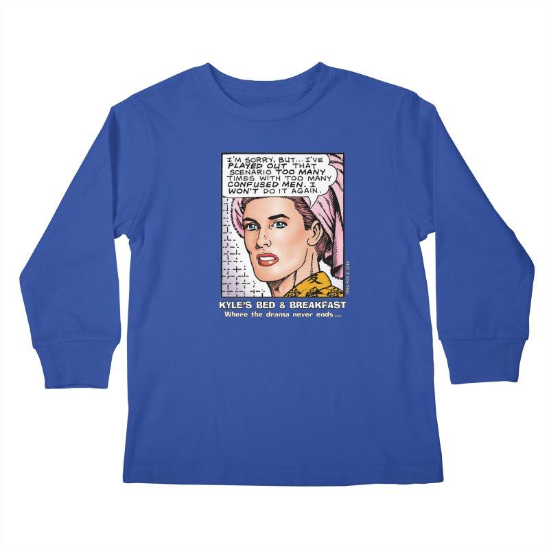 Morgan St. Cloud Kids Longsleeve T-Shirt by Kyle's Bed & Breakfast Fine Clothing & Gifts Shop