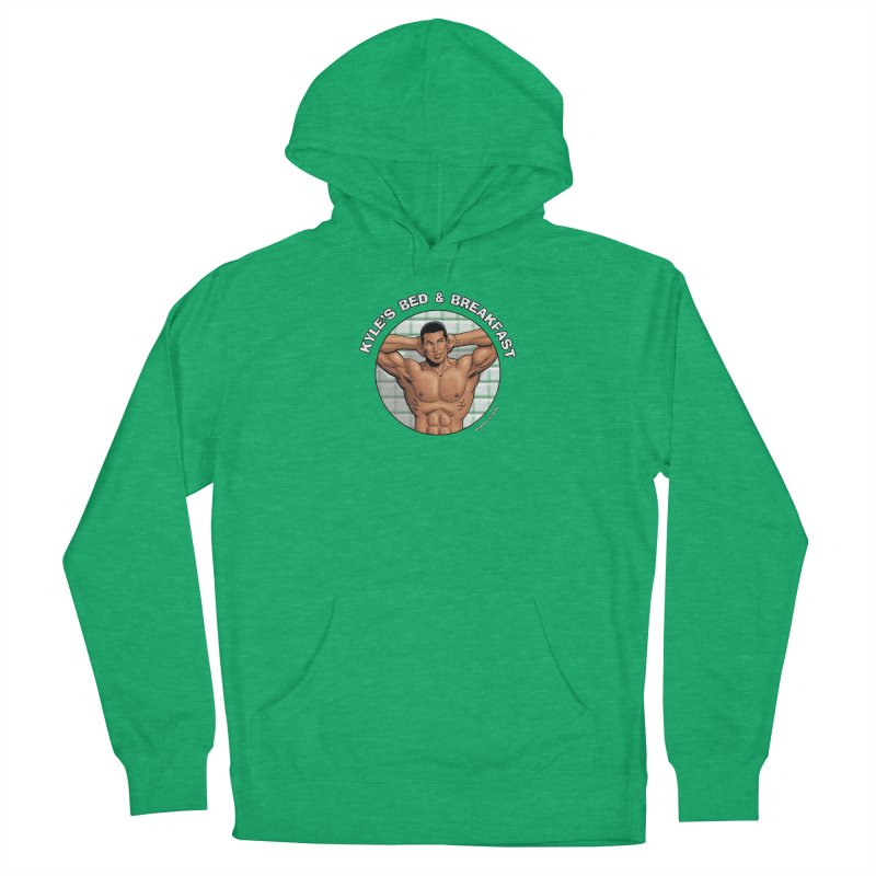 Lance - Shower Women's Pullover Hoody by Kyle's Bed & Breakfast Fine Clothing & Gifts Shop
