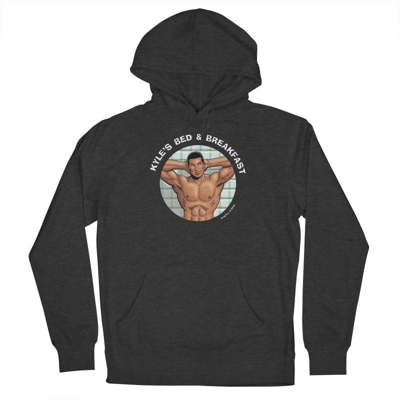 Lance - Shower Men's Pullover Hoody by Kyle's Bed & Breakfast Fine Clothing & Gifts Shop